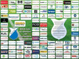 BVCB trots op sponsors van onschatbare waarde.