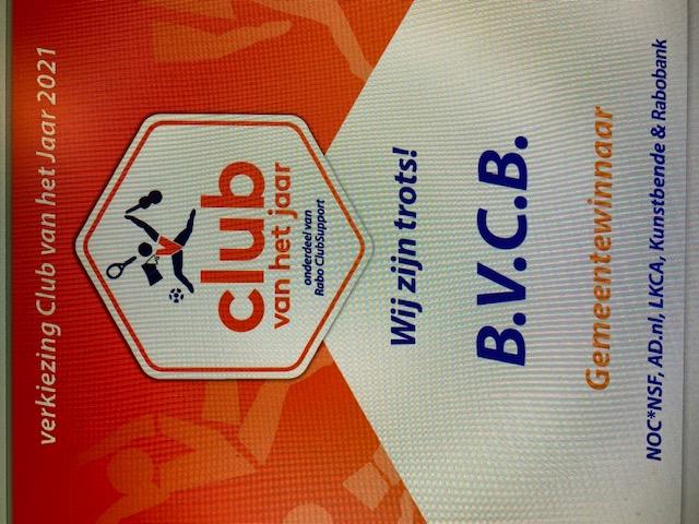 Positief bericht voor alle leden van BVCB!