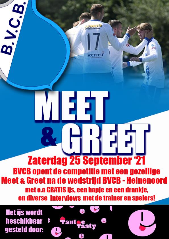 """Kom naar BVCB – Heinenoord met aansluitend """"meet and greet"""""""