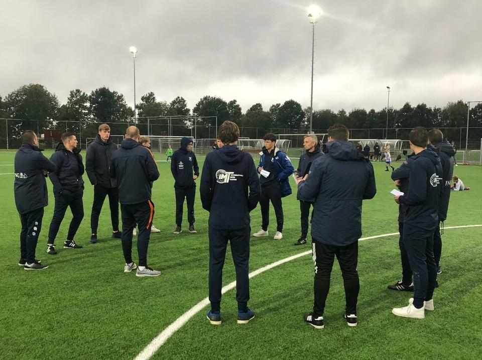 KNVB pupillentrainerscursus is van start gegaan!